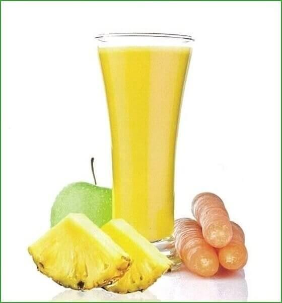 Pineapple Paradise with Aloe Vera Juice