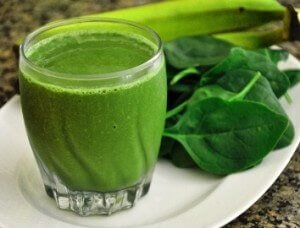 Green Aloe Vera Power Booster with Spirulina