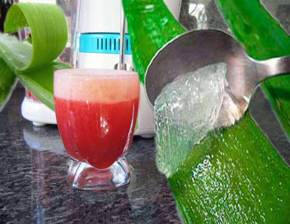 Cranberry Apple Quencher with Aloe Vera