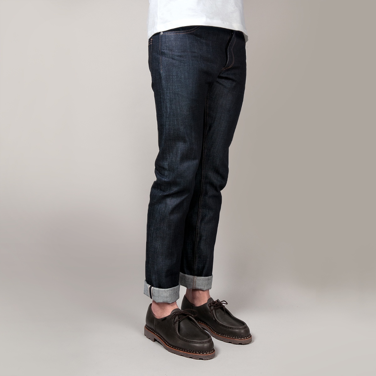 Jeans madeinfrance ajuste cote