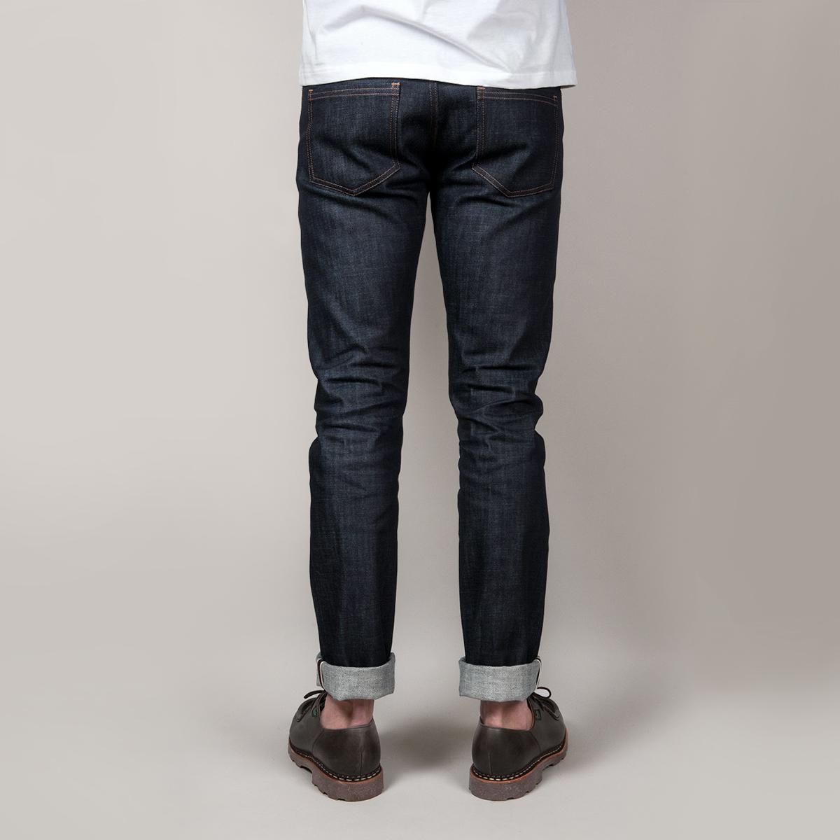 Jeans madeinfrance selvedge back