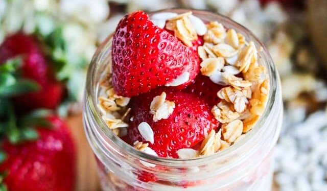 Overnight Oatmeal In A Jar
