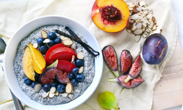 Vanilla Almond Chia Breakfast Pudding
