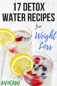 Detox Water Recipes   Detox Waters for Weight Loss   Healthy Drinks to Lose Weight   Avocadu.com