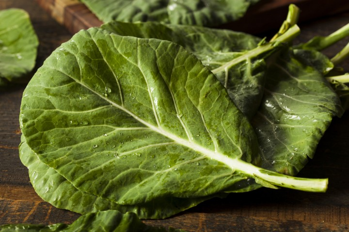 collard greens are healthier than kale