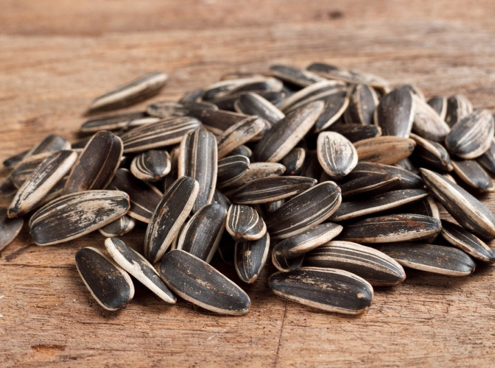 Sunflower Seeds are high in iron