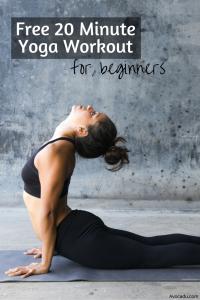 20 Minute Yoga Workout For Beginners |Healthy Living | Avocadu.com