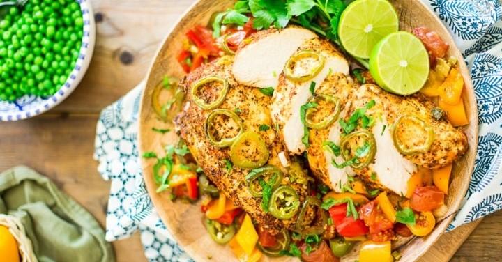 Mediterranean Chicken healthy recipe for dinner