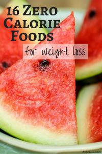 16 Zero Calorie Foods For Weight Loss   Healthy Living   Avocadu.com