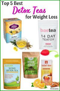 Top 5 Detox Teas for Weight Loss | Avocadu.com
