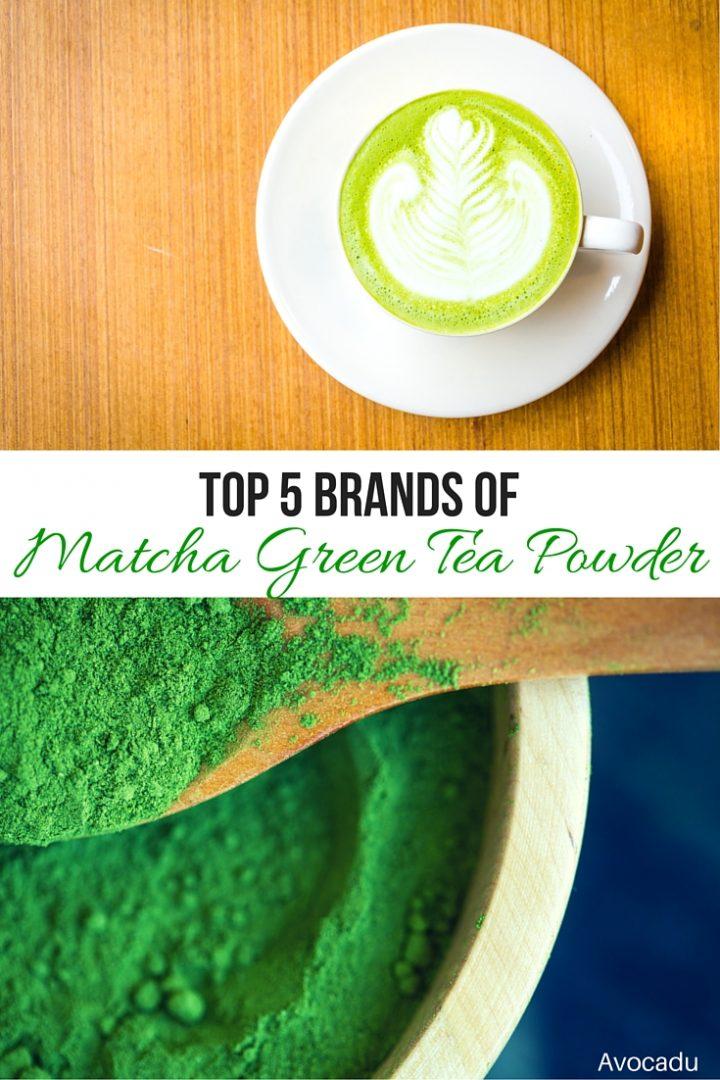 Top 5 Brand of Matcha Green Tea Powder | Avocadu.com