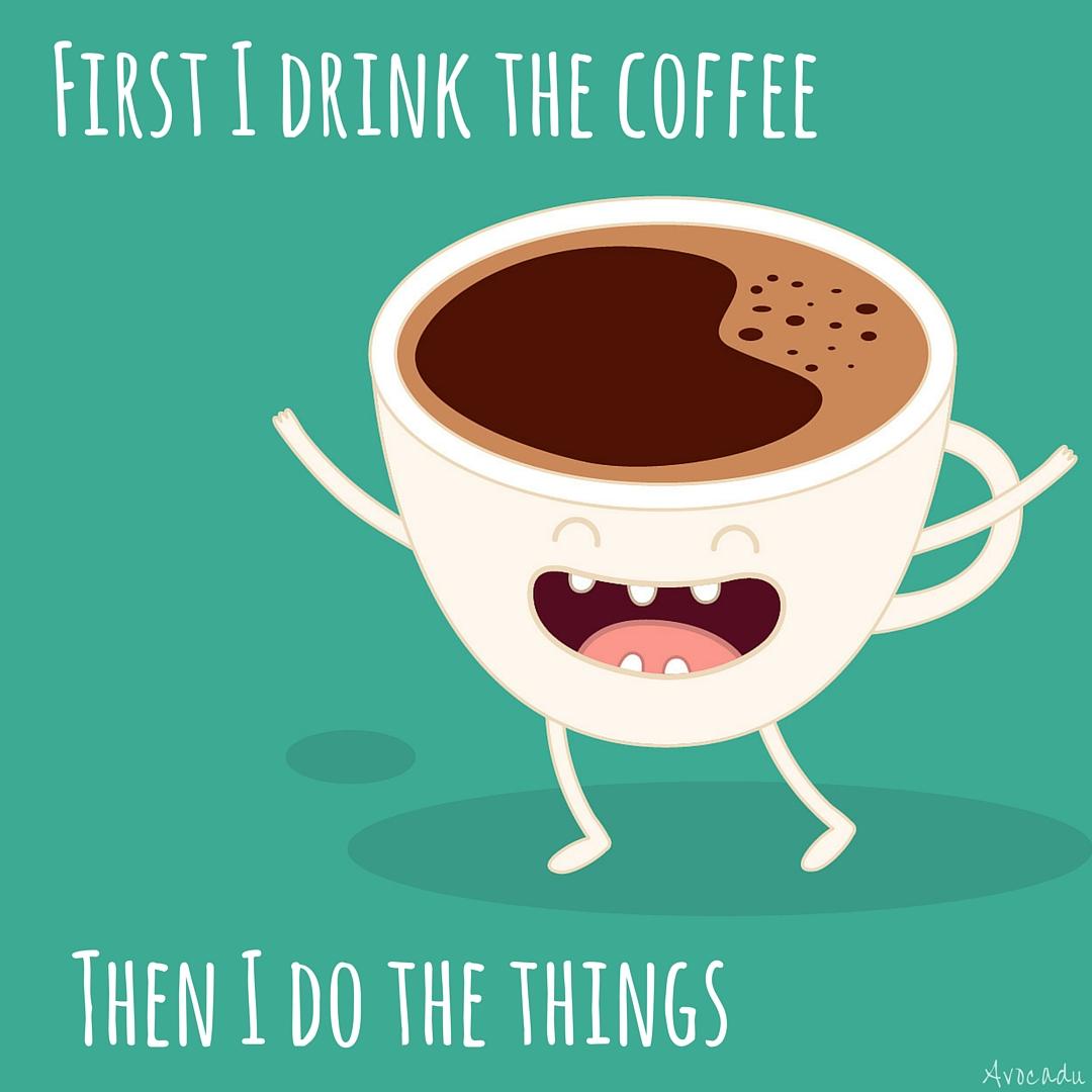 Funny coffee photo