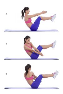 lose belly fat with russian twist exercise