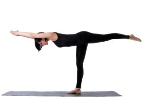 Warrior 3 - #3 pose in 20 minute yoga workout