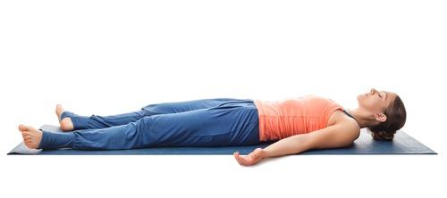 Corpse Posture (Shavasana) for help sleeping