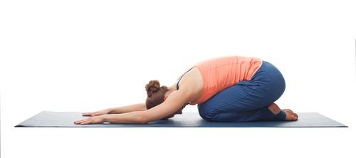 child's pose yoga