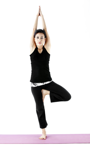 Tree Pose - Vriksasana to balance and reduce anxiety