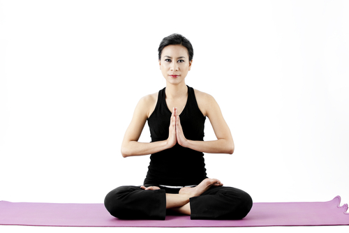 Lotus Pose - Padmasana to relieve stress and anxiety