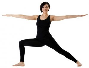 Warrior 2 - #2 pose in 20 minute yoga workout