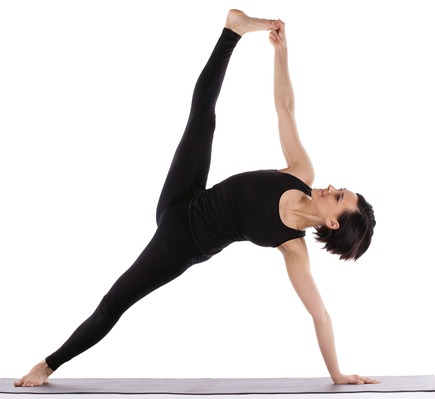 Side Plank Variation -Vasisthasana yoga for weight loss