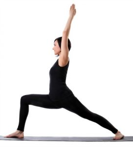 Warrior 1 - #1 pose in 20 minute yoga workout
