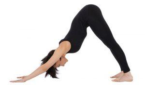 Downward Facing Dog - #5 pose in 20 minute yoga workout