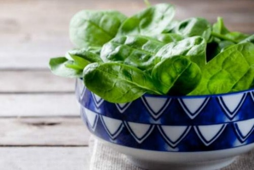 spinach salad detox diet plan recipe