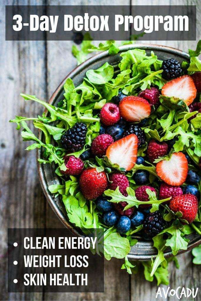 3-Day Detox Diet Program Pin