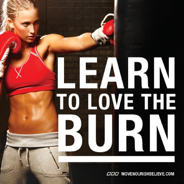 burn fitness motivation