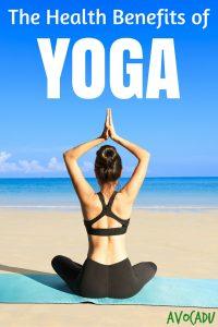 The Health Benefits of Yoga Pin