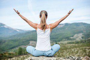 yoga helps improve posture
