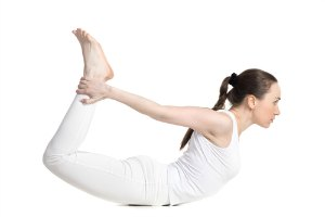 bow yoga pose for flexibility
