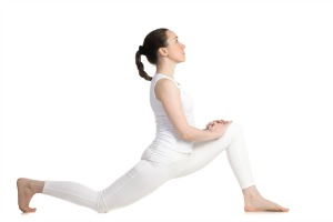 lunge pose for flexibility