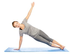 side plank pose to lose weight