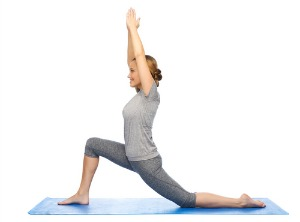 lunge asana for weight loss