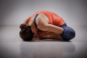 bound angle yoga pose for beginners