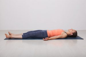 Corpse Basic Yoga Pose for Beginners