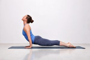 Upward Facing Dog Yoga pose for beginners
