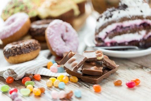 sugar foods high calories
