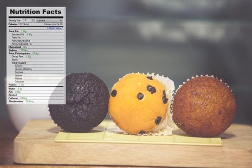 calories junk food