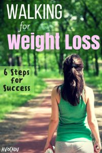 Walking to Lose Weight - 6 Steps to Success | Avocadu.com
