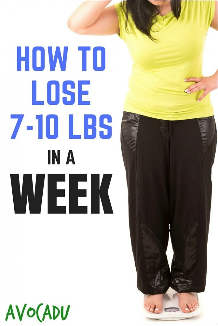 How to Lose 7-10 Pounds in a Week | Lose Weight in a Week | Diet Plans to Lose Weight | Lose Weight Fast | Avocadu.com
