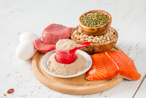 eat protein to lose weight and cut down on sugar
