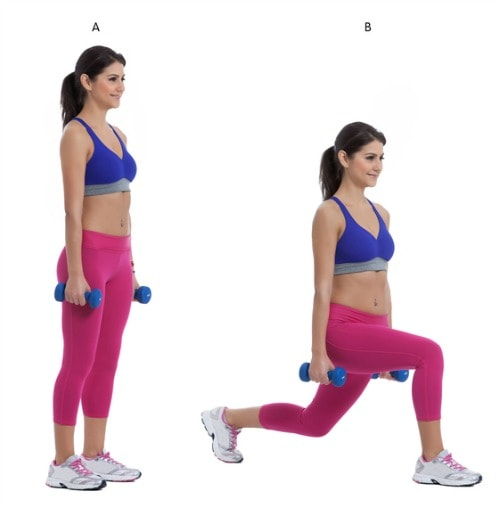 lunges for cellulite