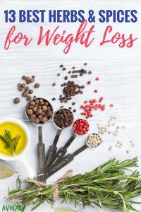 13 Best Herbs & Spices for Weight Loss   Avocadu.com