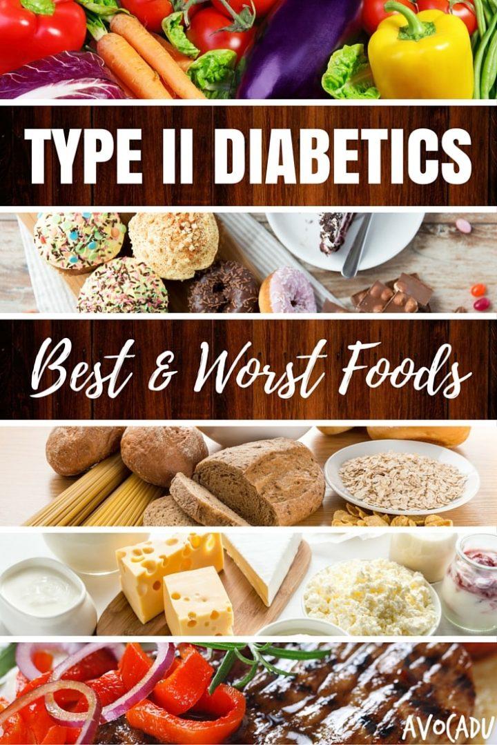Best and Worst Foods for Type II Diabetics | Healthy Food for Diabetics | Diabetes Diet for Weight Loss | Avocadu.com