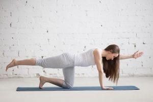 sunbird yoga pose