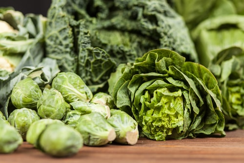 green vegetables to cure candida