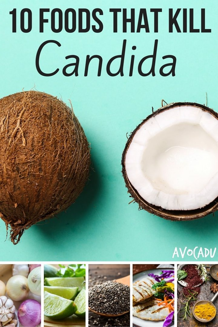 10 Foods That Kill Candida | Avocadu.com