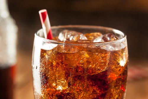 removing soda from your diet is one of the easy easy to cut down on sugar